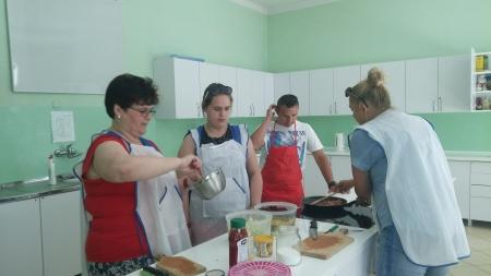 Warsztaty gastronomiczne dla uczniów i ich rodziców
