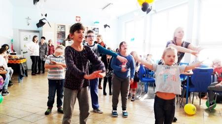 Jesienne party klas 2-3