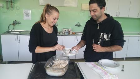 Przysposobienie do pracy / pomoc kucharza