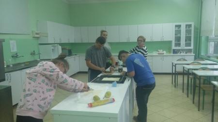 Zajęcia gastronomiczne dla uczniów i ich rodziców
