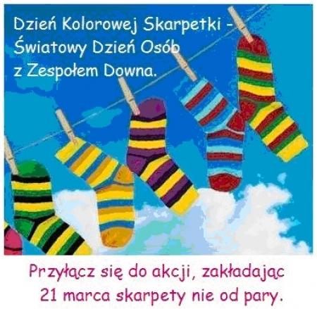 Zaproszenie do włączenia się w obchody Światowego Dnia Zespołu Downa