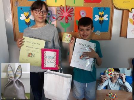 Nasi uczniowie wyróżnieni w konkursie plastycznym