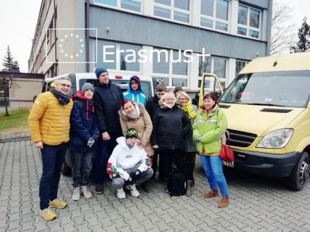 Wyjazd do Schkeuditz ERASMUS+