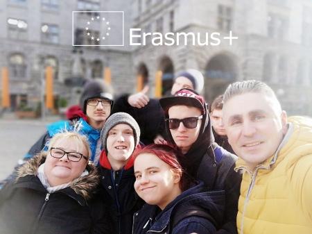 Dzień pierwszy i wyjazd do Lipska ERASMUS+