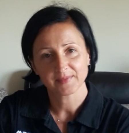 Pani Marta czyta w ramach akcji CPCzD