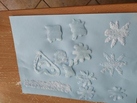 Cukrowe zimowe obrazki