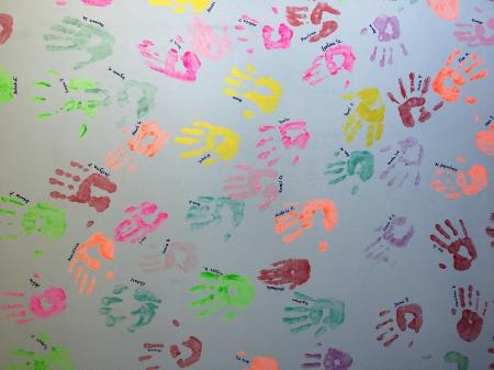 Szkolna akcja ''Odcisk dłoni''
