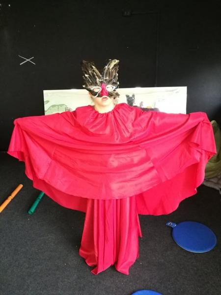 Kiedy uczniowie uwielbiają działania teatralne-  lekcje to sama radość.